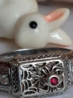 Продам  серебренное кольцо - Изображение 4