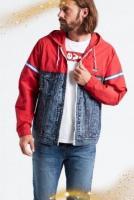 Продам новую комбинированную куртку бренда Levi's. - Изображение 1