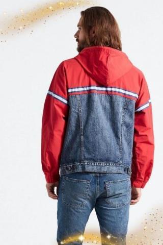 Продам новую комбинированную куртку бренда Levi's. - 2