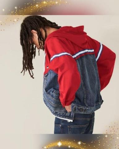 Продам новую комбинированную куртку бренда Levi's. - 3