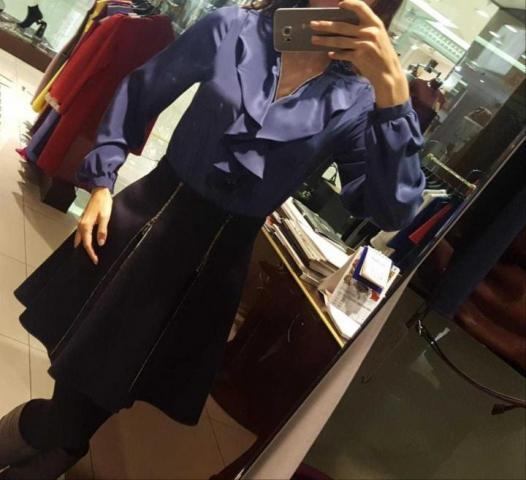 Продам шёлковую блузу Cristina Veroni, Italy - 1