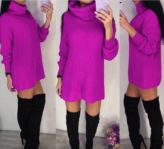 Продам очаровательный свитер-тунику - 1