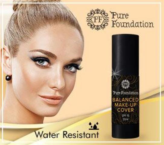 Pure Foundation тональный крем с ультра маскирующим эффектом - 2