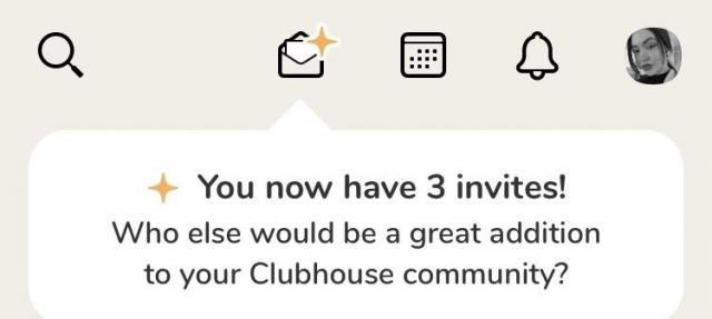Invite on ClubHouse App - 1