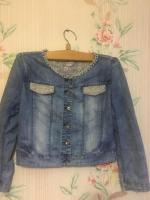 Продам джинсовый пиджак - Изображение 1