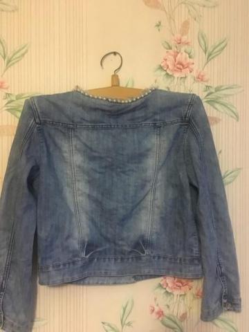 Продам джинсовый пиджак - 2