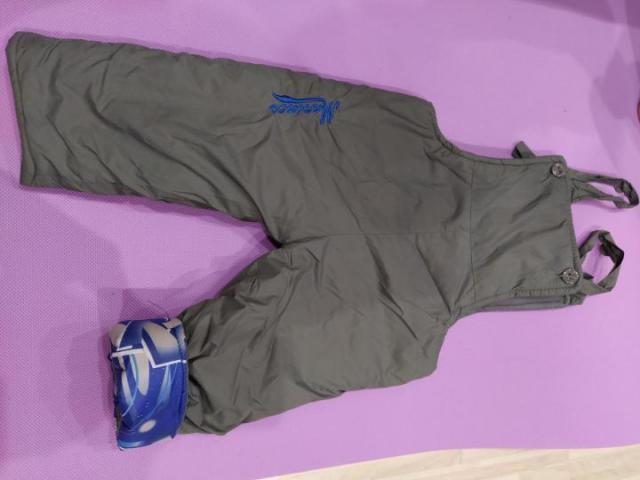 Продам теплые болоневые штаны - 1