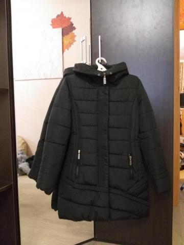Продам куртка теплая зимняя на девочку - 1