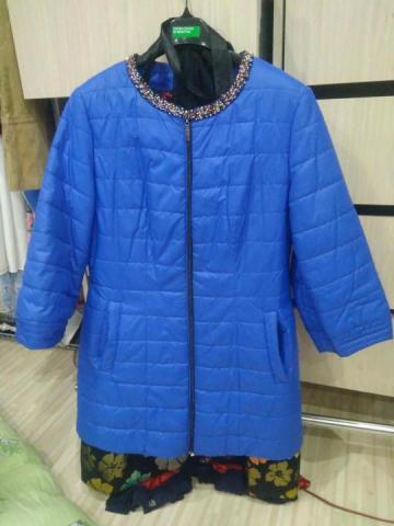 Продам голубую курточку - 1