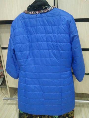 Продам голубую курточку - 2