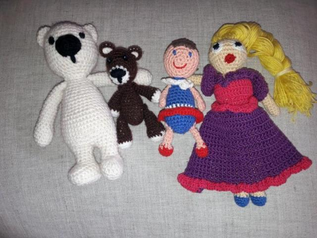 Продам вязаные игрушки - 1