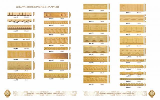 Мебельная фабрика деревянных комплектующих: фасады, профили, наличники, резьба, плинтусы, детали меб - 5