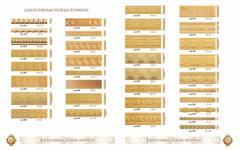 Мебельная фабрика деревянных комплектующих: фасады, профили, наличники, резьба, плинтусы, детали меб - Изображение 5