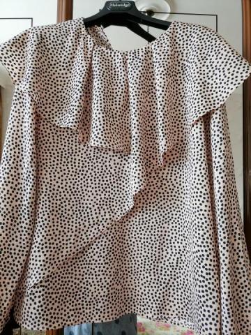 Продаю нарядную шелковую блузку бренда Zara - 2
