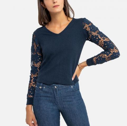 Продам замечательный пуловер из тонкого трикотажа - 1