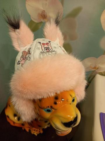 Продам Зимнюю детскую шапку - 1