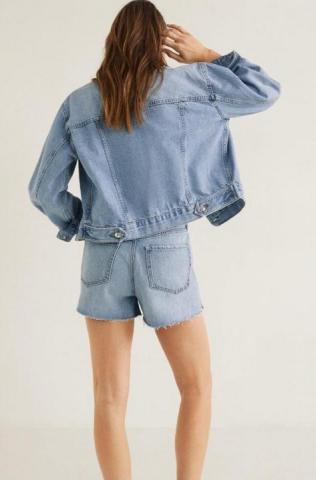 Продам куртку джинсовую Mango - 1