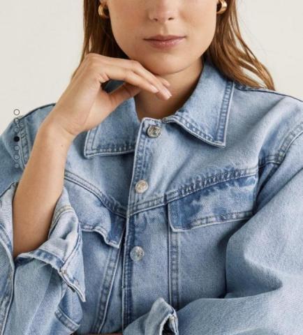 Продам куртку джинсовую Mango - 3