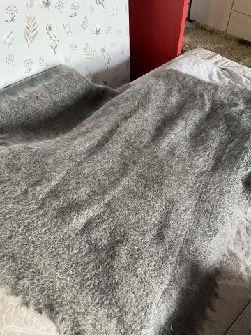 Оренбургский пуховый платок - 1