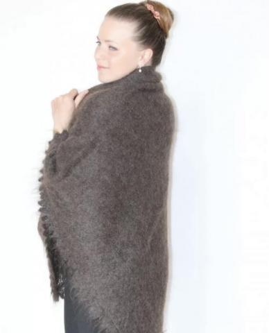 Оренбургский пуховый платок - 2
