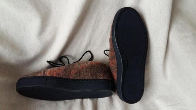 Обувь из шерсти ручной работы - 2