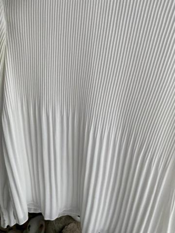 Продам плиссированная белая блузка - 2