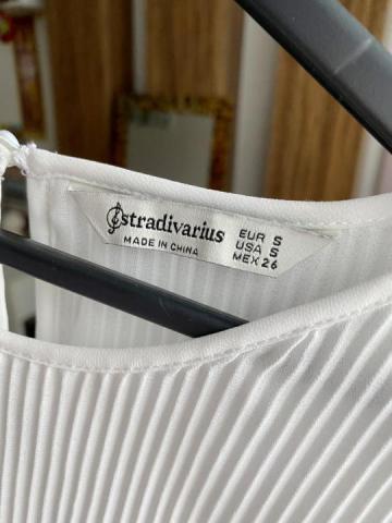 Продам плиссированная белая блузка - 3
