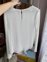 Продам плиссированная белая блузка - Изображение 4