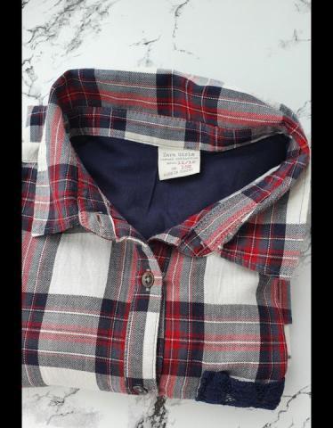 """Продам """"Zara"""", рубашка в клетку - 1"""