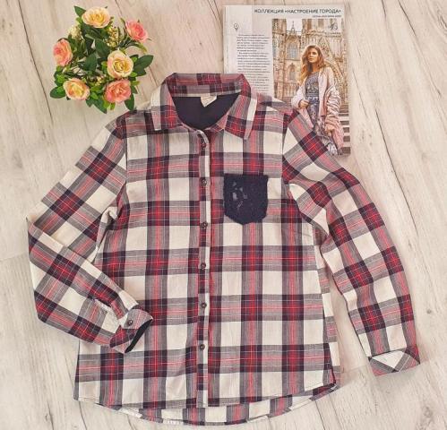 """Продам """"Zara"""", рубашка в клетку - 2"""