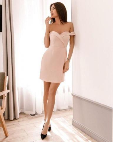Продам  платье со спущенными плечиками - 1