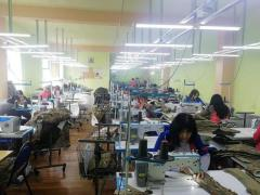 Швейное производство в г. Ванадзор Армения