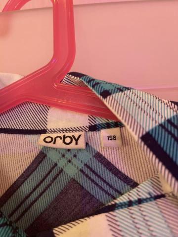 Продам рубашку на девочку фирмы orby - 2