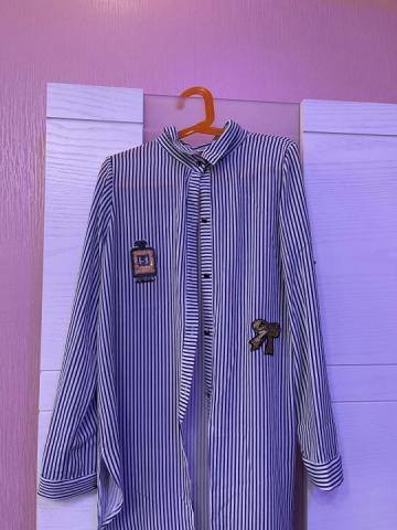 Продам  блузку в полосочку - 1