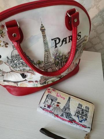 Комплект из сумки и кошелька - 1