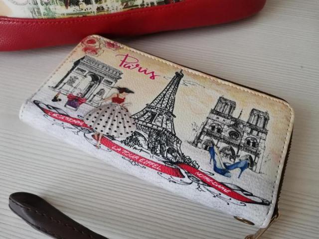 Комплект из сумки и кошелька - 2