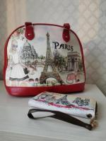 Комплект из сумки и кошелька - Изображение 3