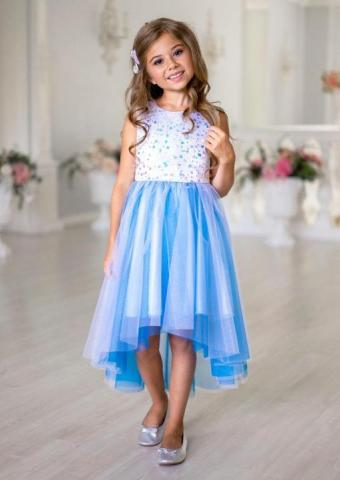 Продам платье с асимметричной линией низа - 1