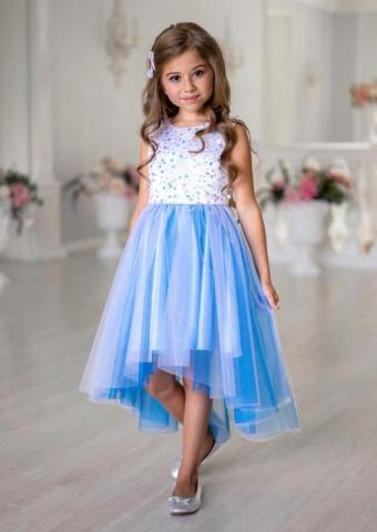 Продам платье с асимметричной линией низа - 2