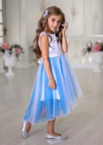 Продам платье с асимметричной линией низа - 3