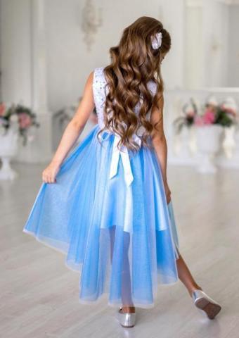 Продам платье с асимметричной линией низа - 4