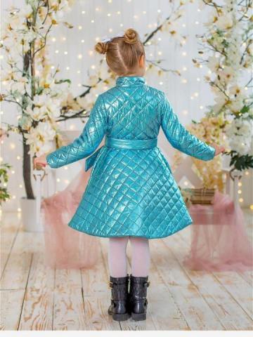 Продам стёганное детское пальто - 1