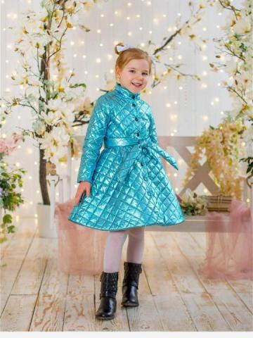 Продам стёганное детское пальто - 2