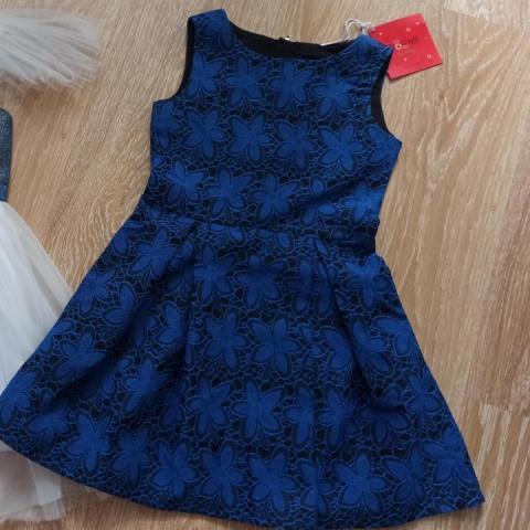 Продам новое платье для девочки 122,134р-р - 1