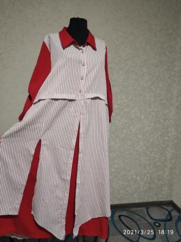 Продам новое платье-обманка - 1