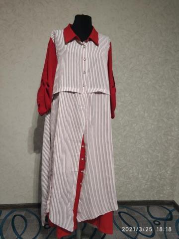 Продам новое платье-обманка - 4