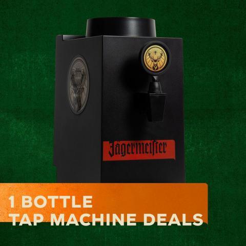 Jägermeister tap machine 1 bottle - 1