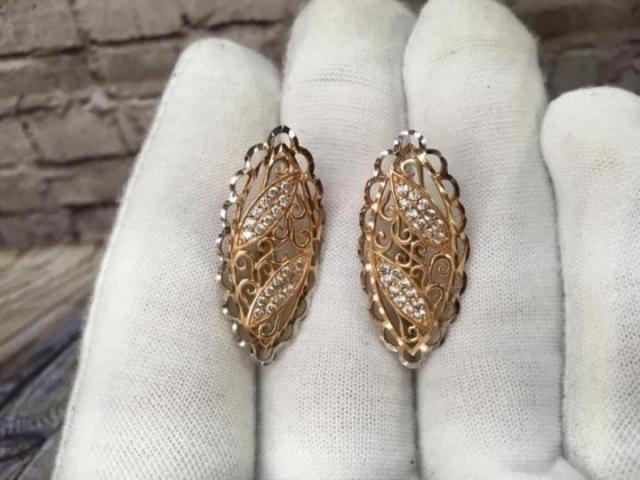 Продам золотые серьги 585 - 2