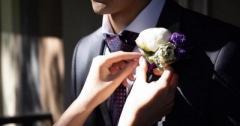 Продам мужской свадебный костюм + подарок - Изображение 1