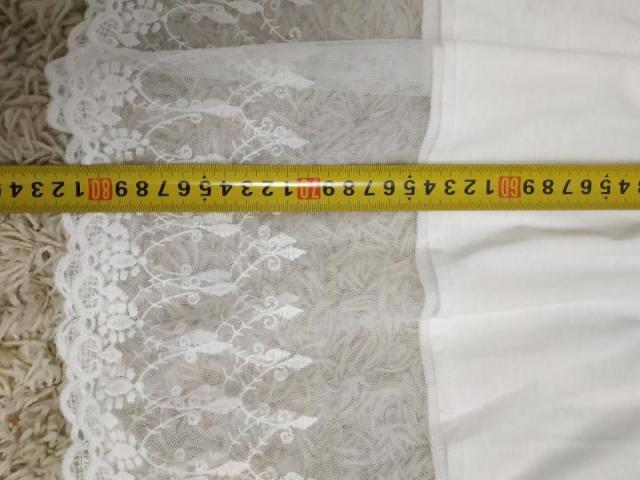 Пляжное белое платье туника - 4